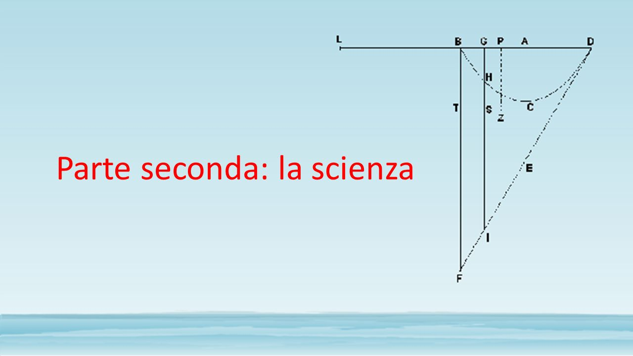 Parte seconda: la scienza