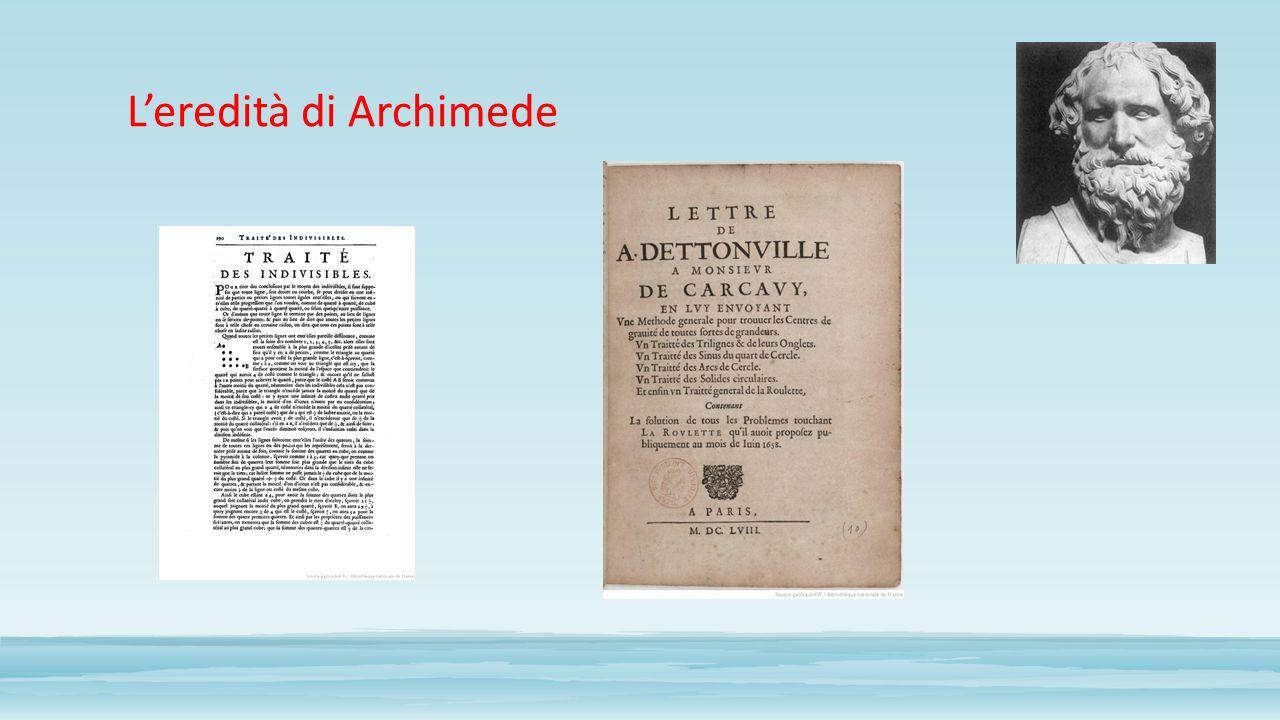 L'eredità di Archimede