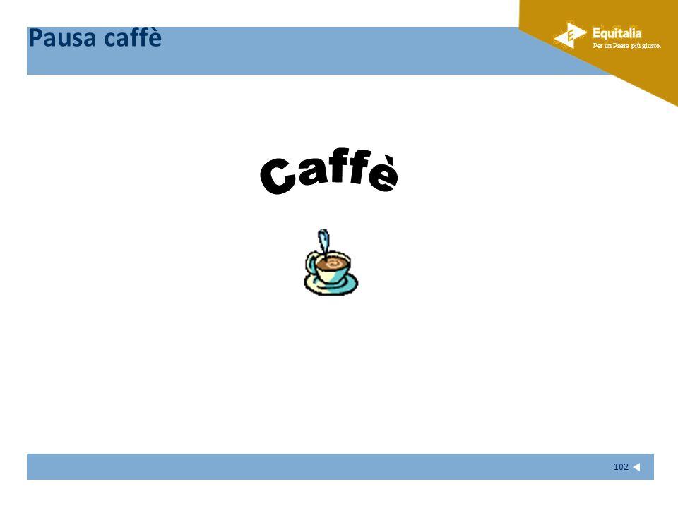 Pausa caffè Caffè 102 102