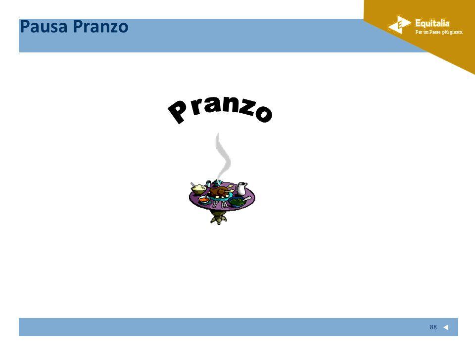 Pausa Pranzo Pranzo 88 88