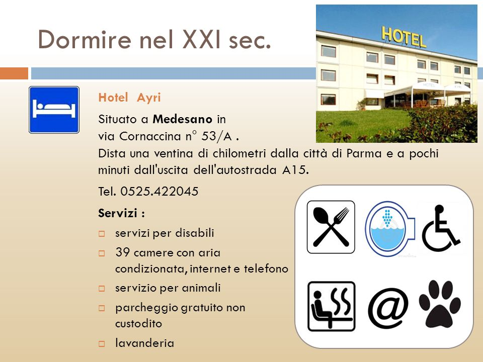 Dormire nel XXI sec. Hotel Ayri