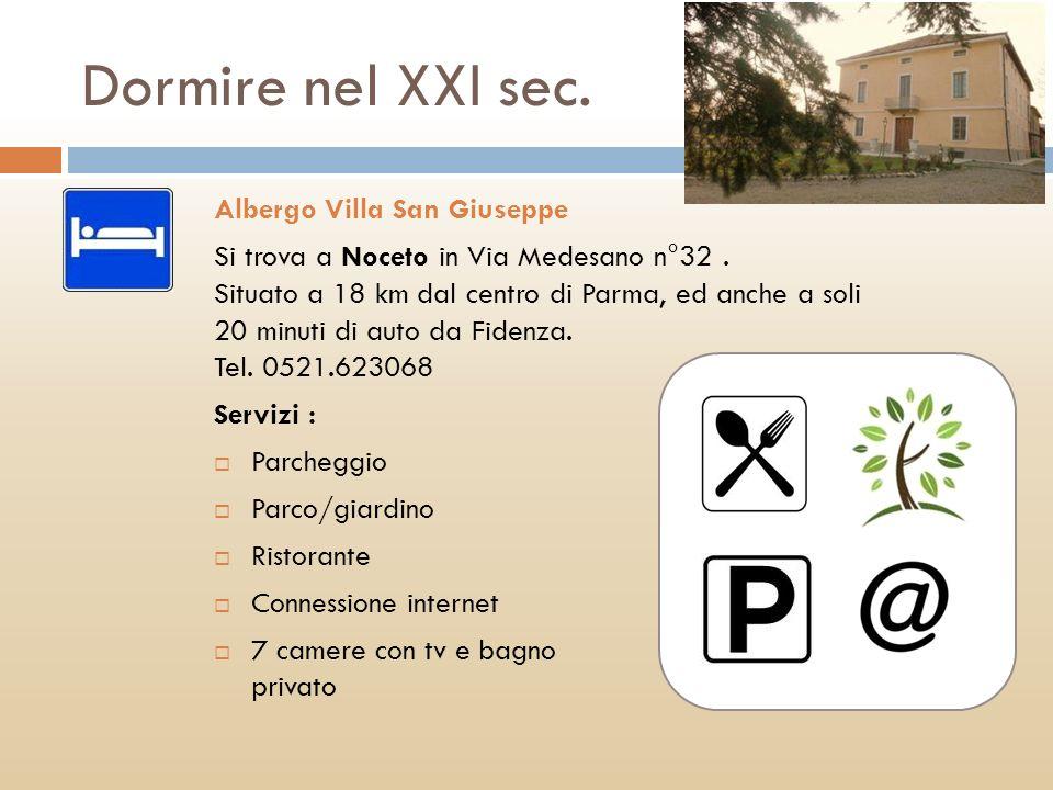 Dormire nel XXI sec. Albergo Villa San Giuseppe