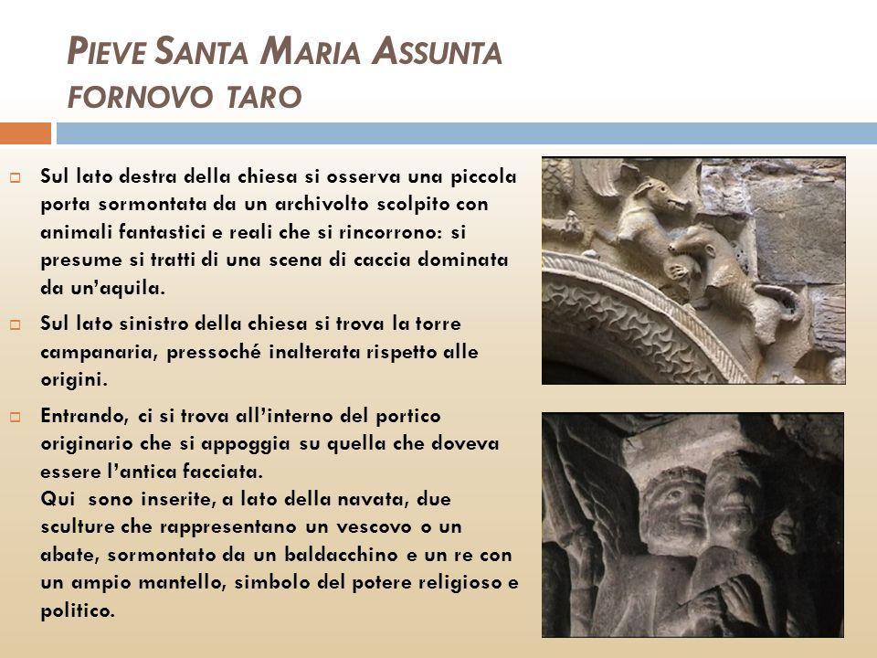 PIEVE SANTA MARIA ASSUNTA FORNOVO TARO