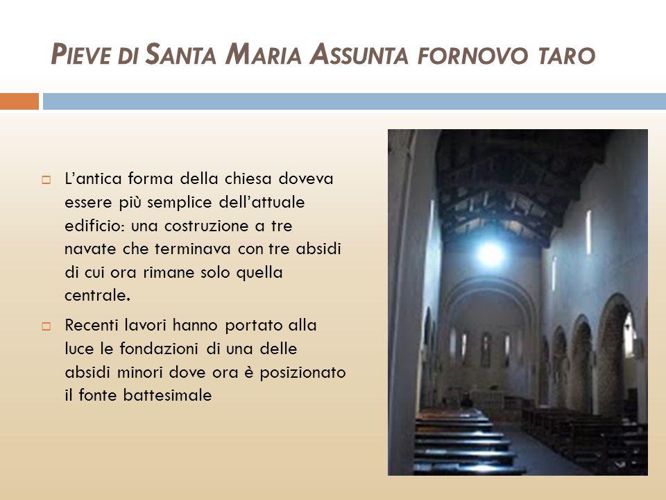 PIEVE DI SANTA MARIA ASSUNTA FORNOVO TARO