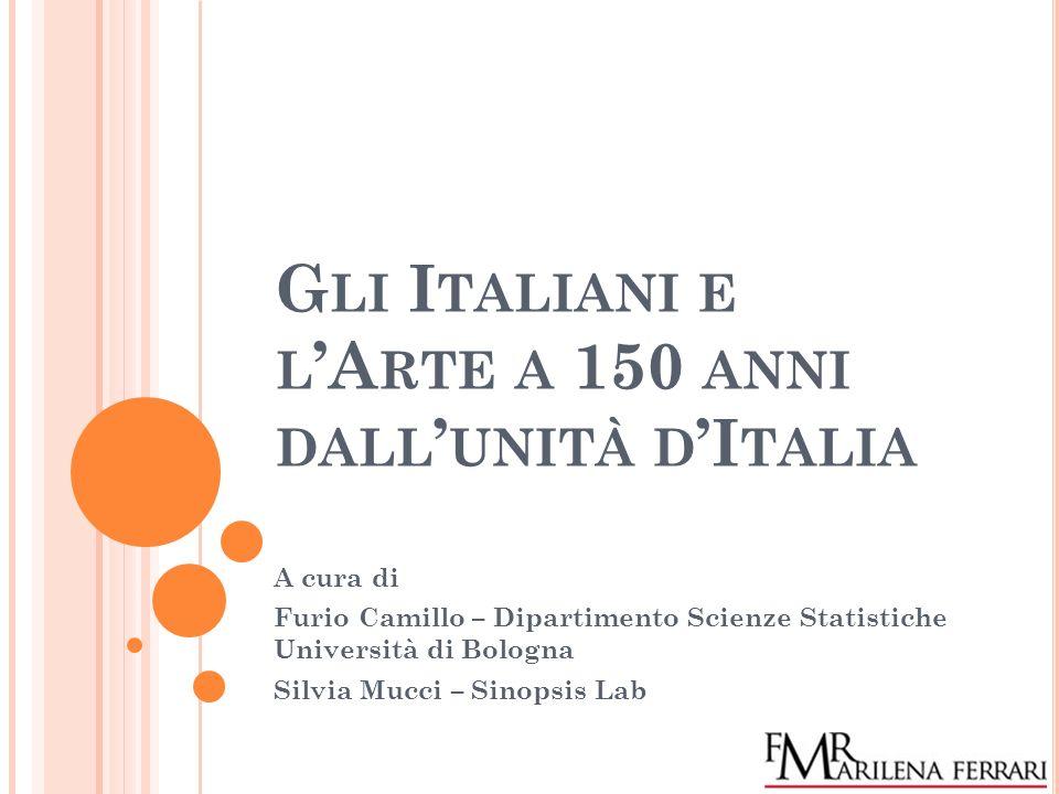 Gli Italiani e l'Arte a 150 anni dall'unità d'Italia