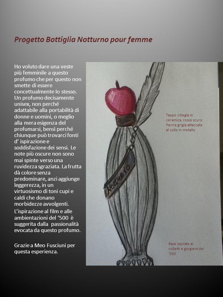 Progetto Bottiglia Notturno pour femme