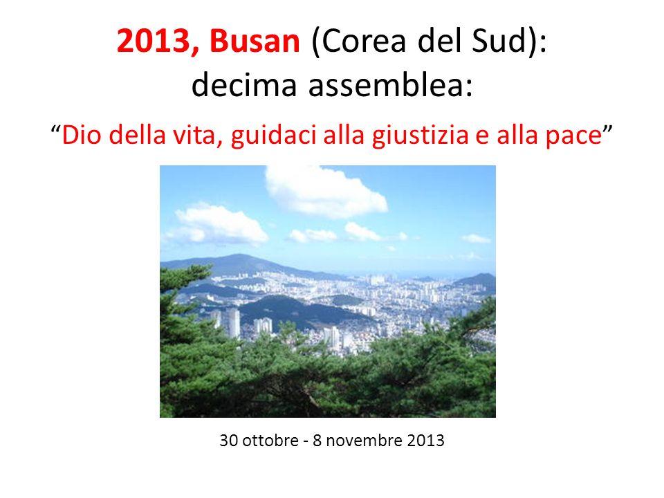 2013, Busan (Corea del Sud): decima assemblea:
