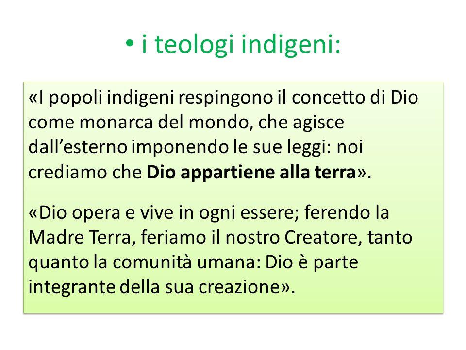 i teologi indigeni: