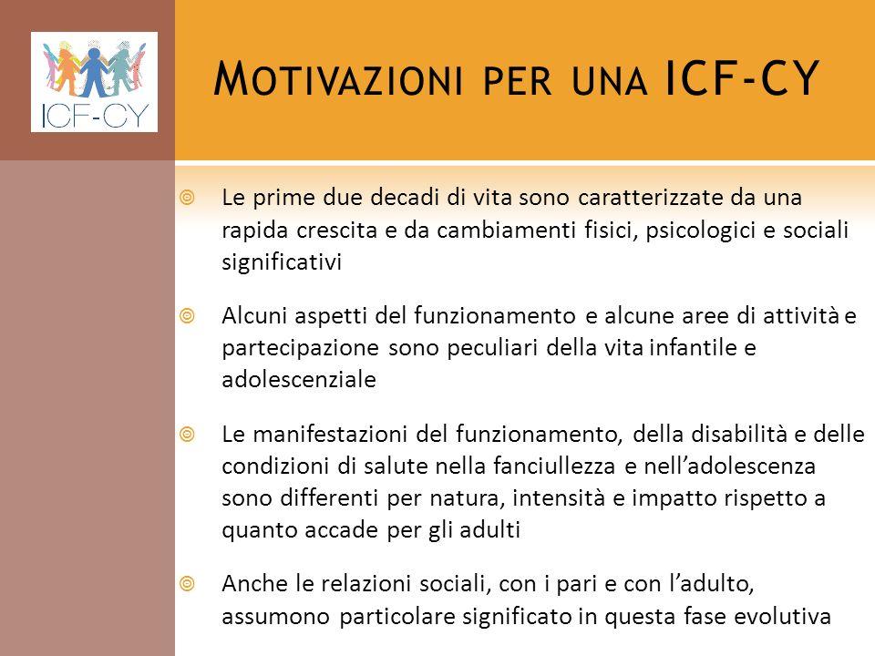 Motivazioni per una ICF-CY