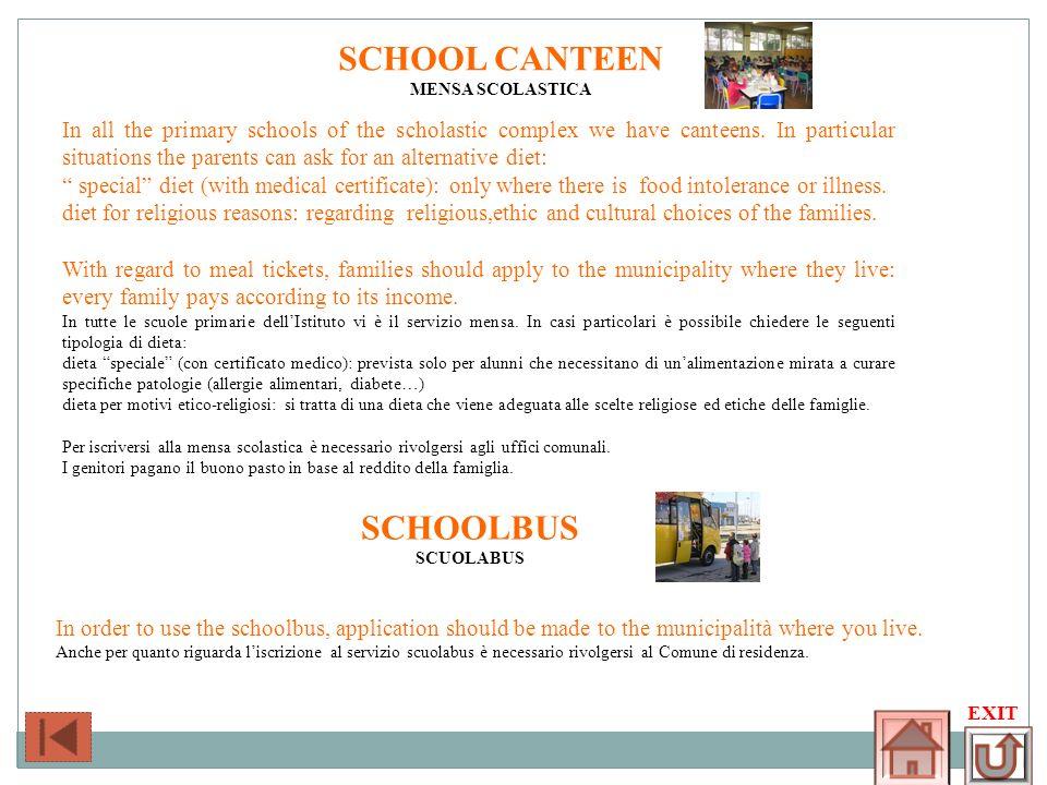 SCHOOL CANTEEN SCHOOLBUS
