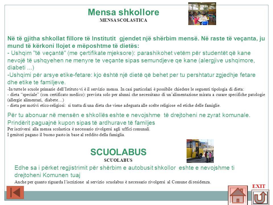Mensa shkollore SCUOLABUS