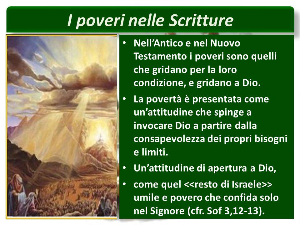 I poveri nelle Scritture