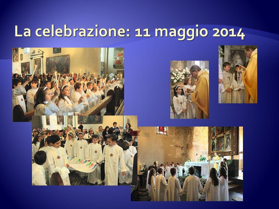 La celebrazione: 11 maggio 2014