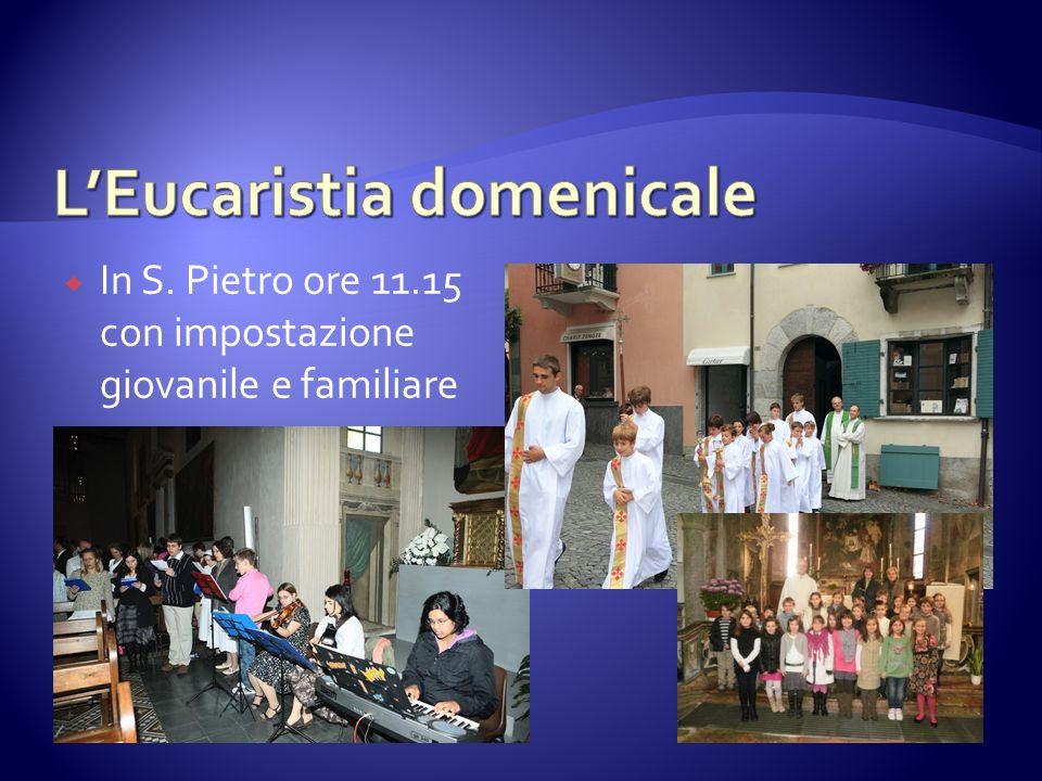 L'Eucaristia domenicale