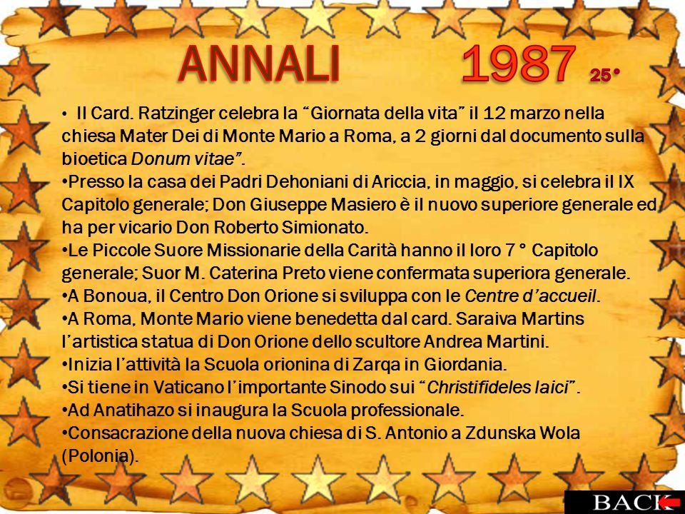 ANNALI 1987 25°