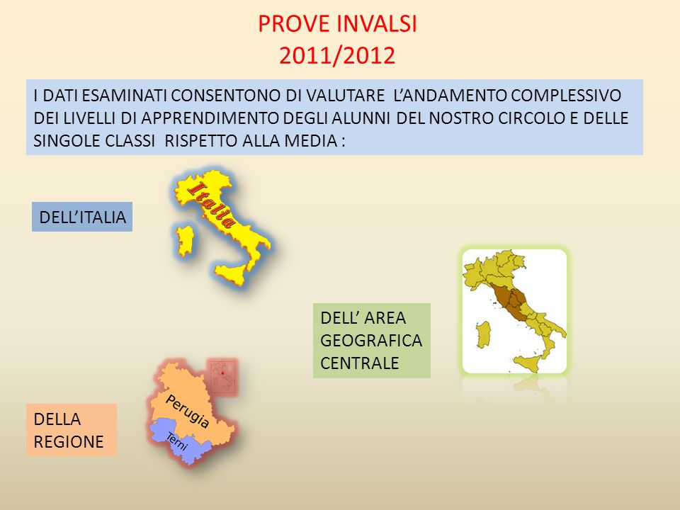 PROVE INVALSI 2011/2012