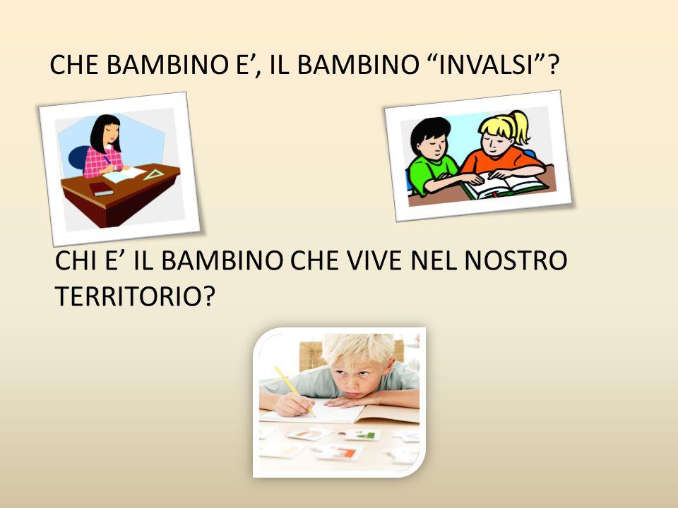 CHE BAMBINO E', IL BAMBINO INVALSI