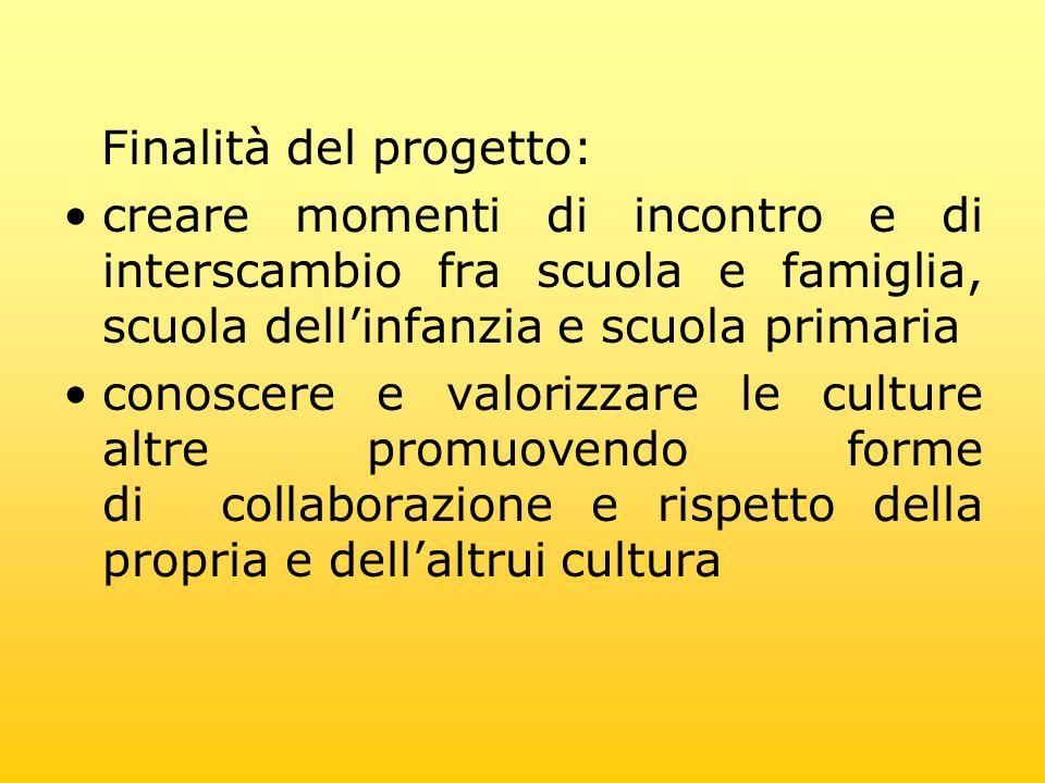 Finalità del progetto:
