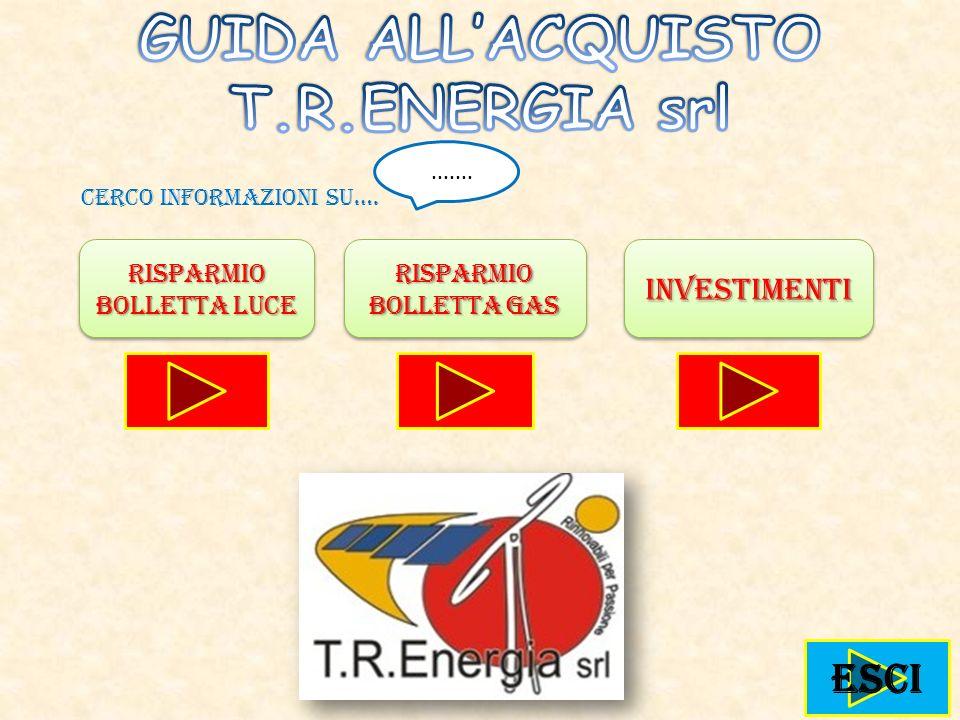 GUIDA ALL'ACQUISTO T.R.ENERGIA srl