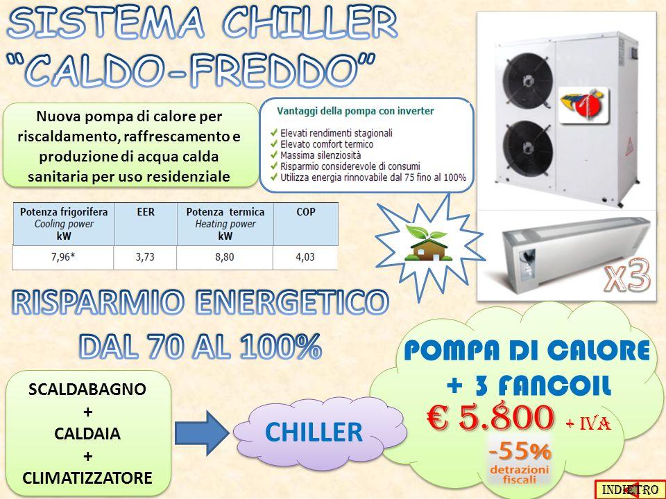 SISTEMA CHILLER CALDO-FREDDO