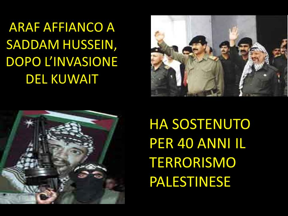 ARAF AFFIANCO A SADDAM HUSSEIN, DOPO L'INVASIONE DEL KUWAIT