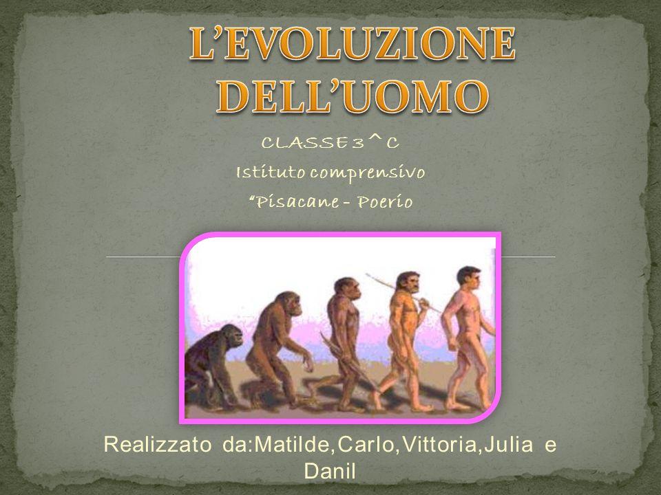 L'EVOLUZIONE DELL'UOMO