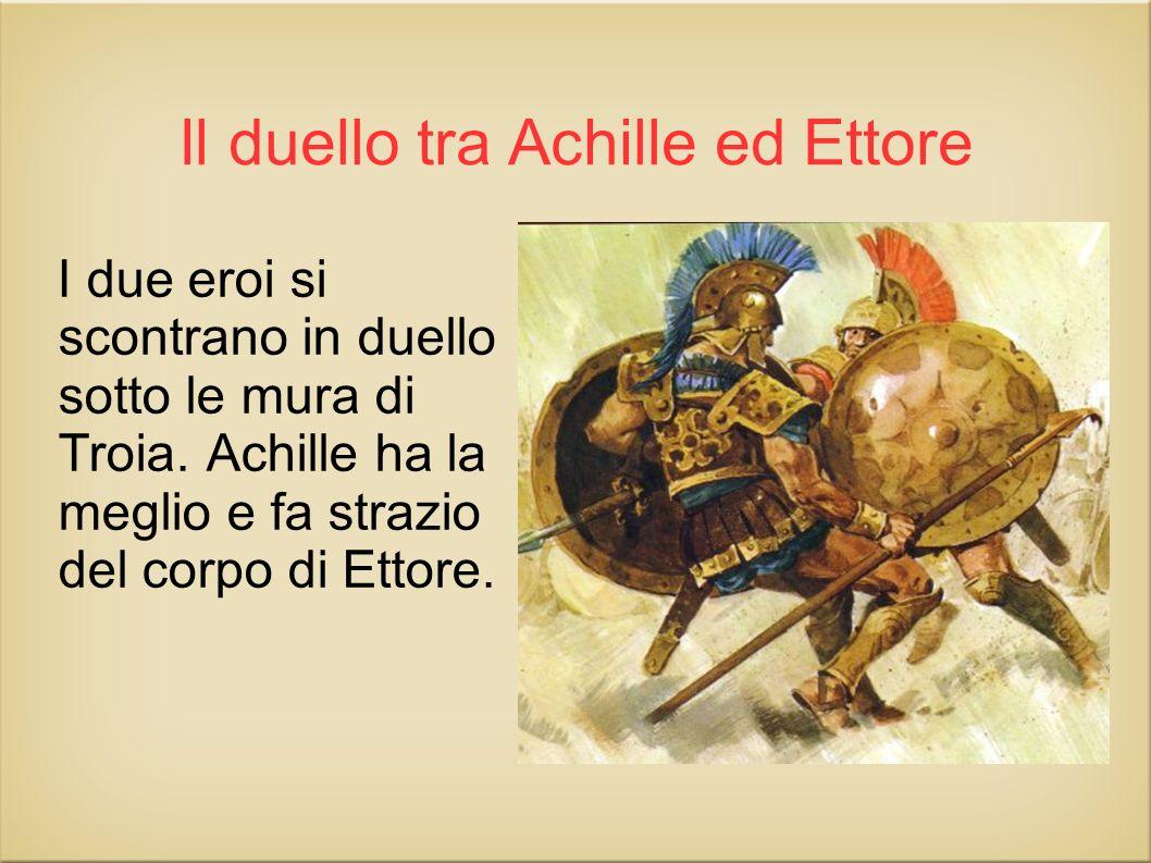 Il duello tra Achille ed Ettore