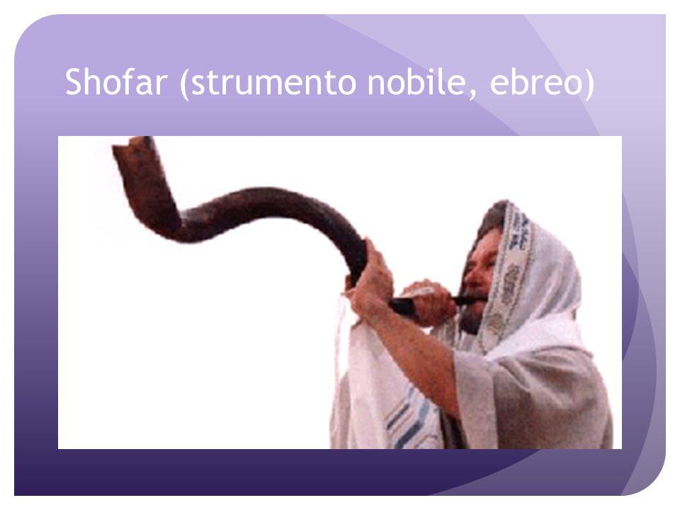 Shofar (strumento nobile, ebreo)