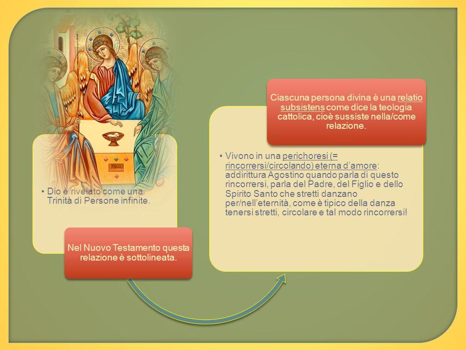 Nel Nuovo Testamento questa relazione è sottolineata.