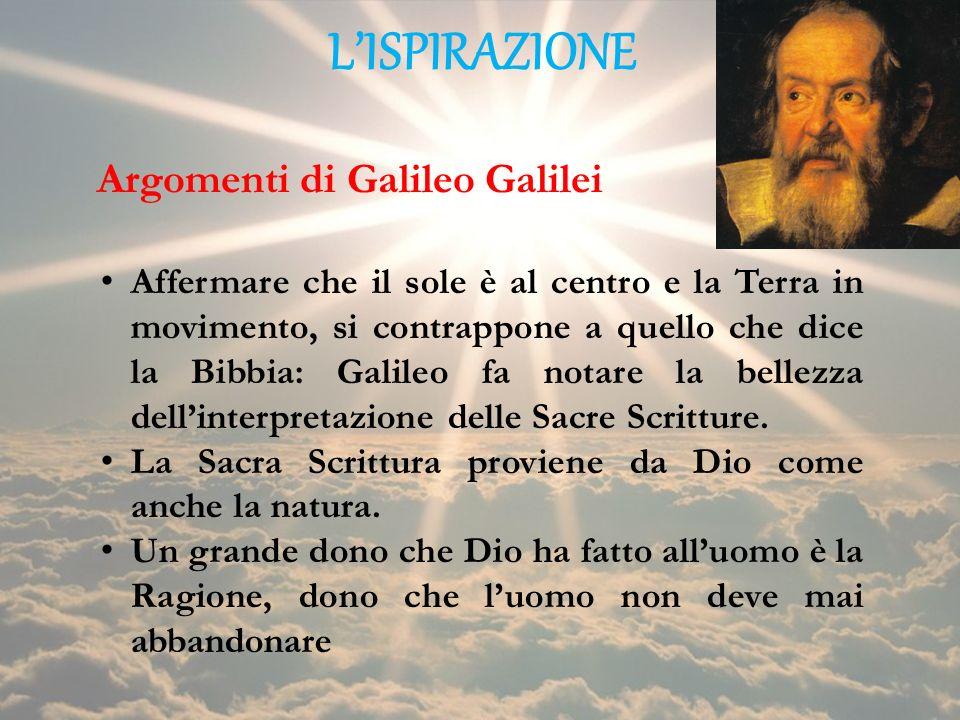 Argomenti di Galileo Galilei