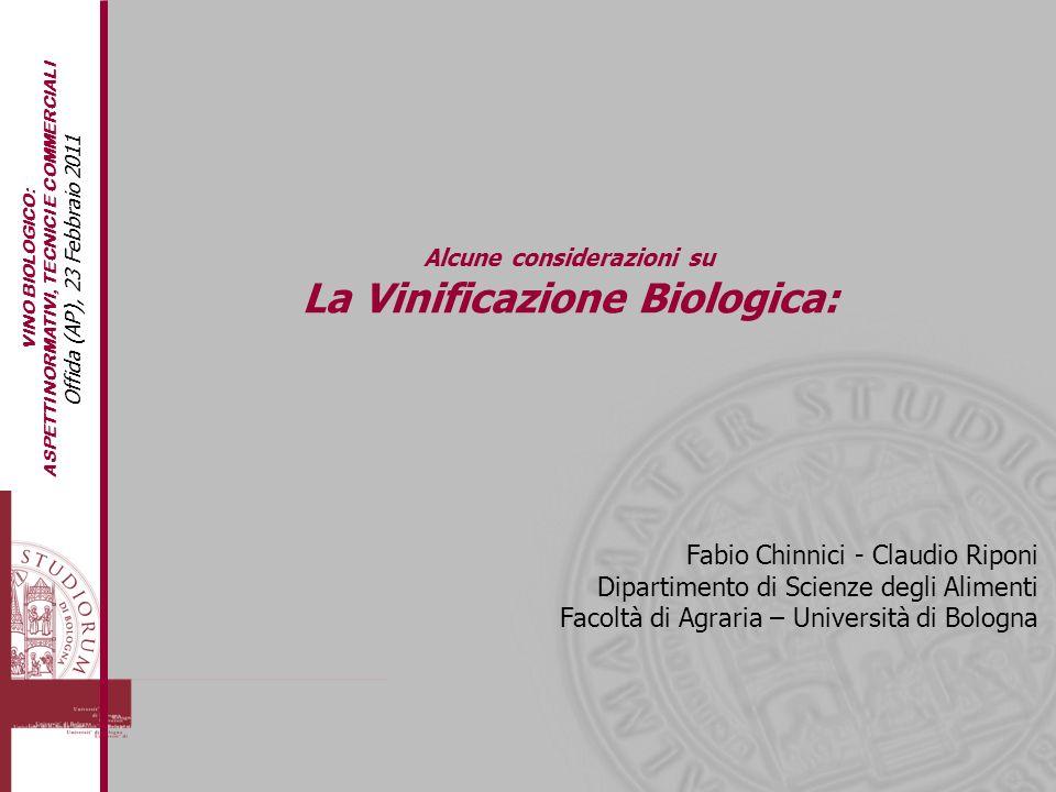 La Vinificazione Biologica:
