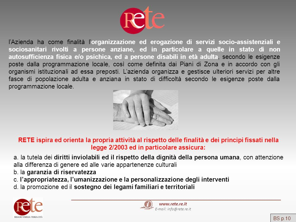 E-mail: info@rete.re.it