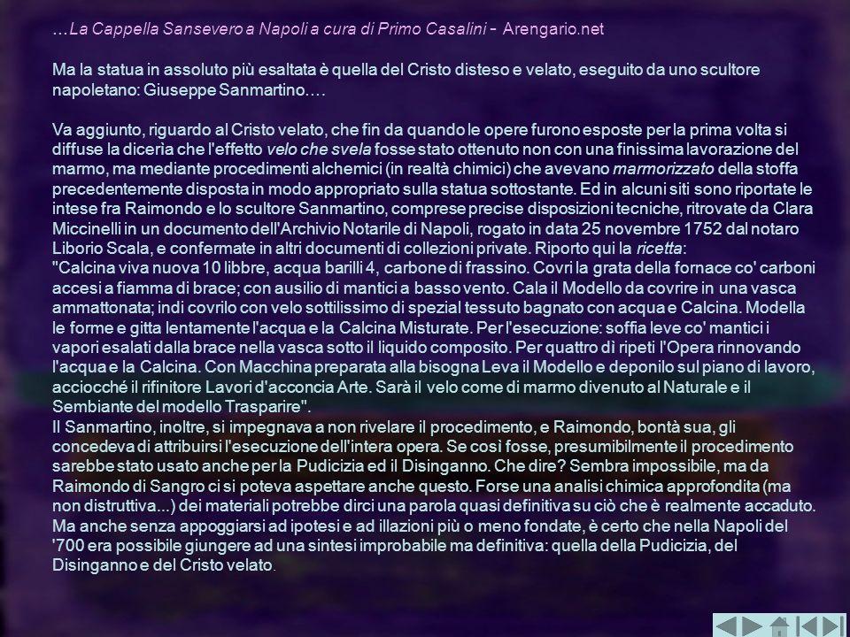 …La Cappella Sansevero a Napoli a cura di Primo Casalini - Arengario