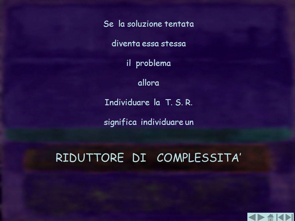 RIDUTTORE DI COMPLESSITA'