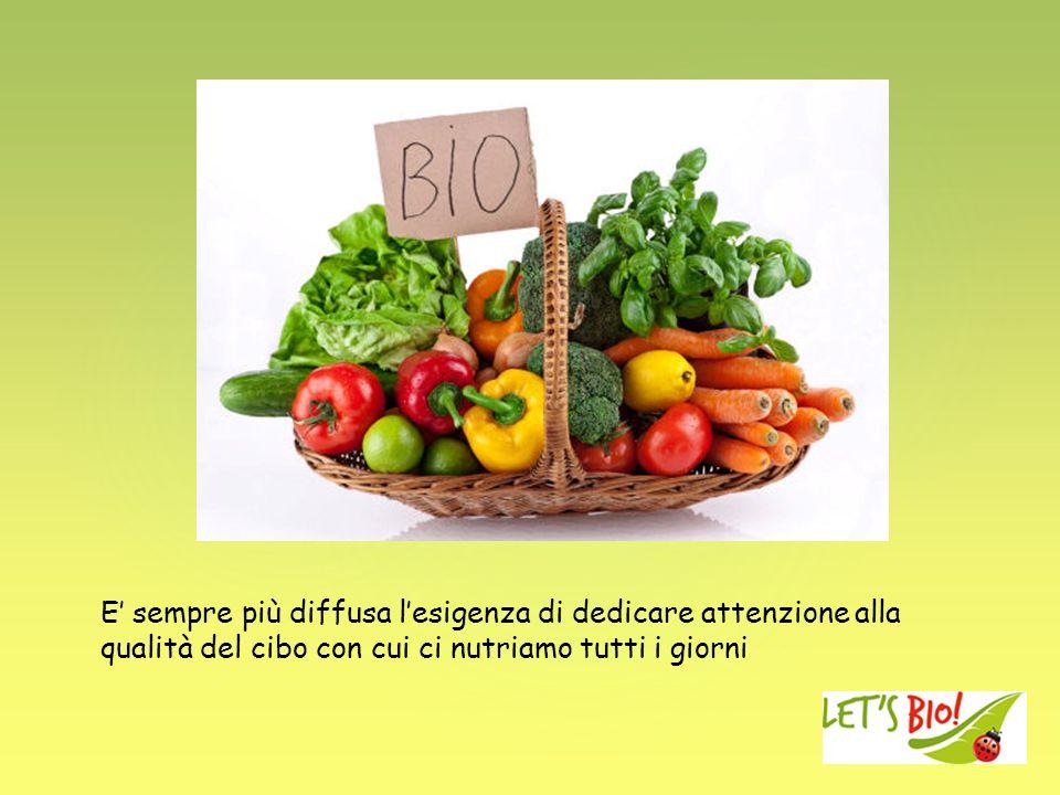 E' sempre più diffusa l'esigenza di dedicare attenzione alla qualità del cibo con cui ci nutriamo tutti i giorni