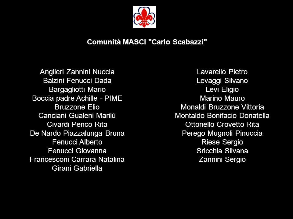 Comunità MASCI Carlo Scabazzi
