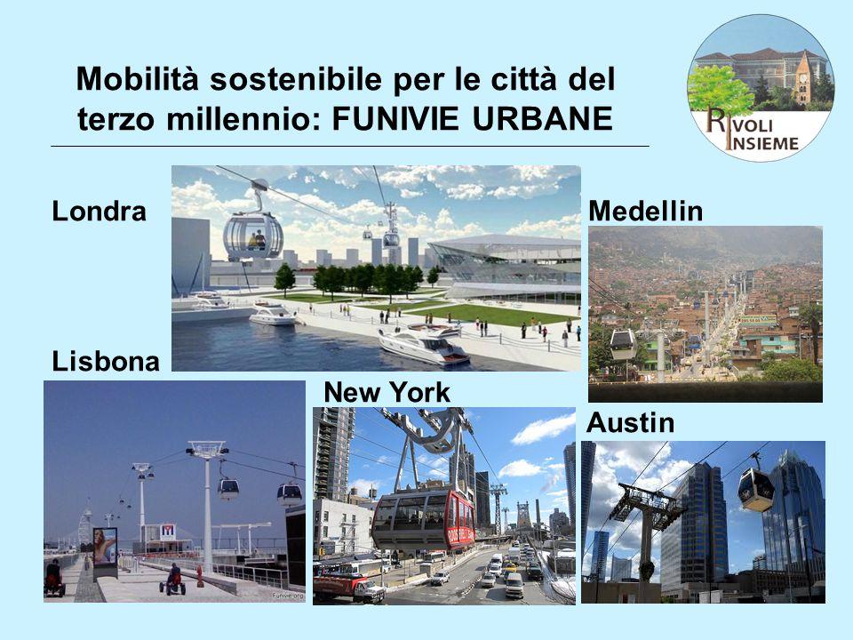 Mobilità sostenibile per le città del terzo millennio: FUNIVIE URBANE
