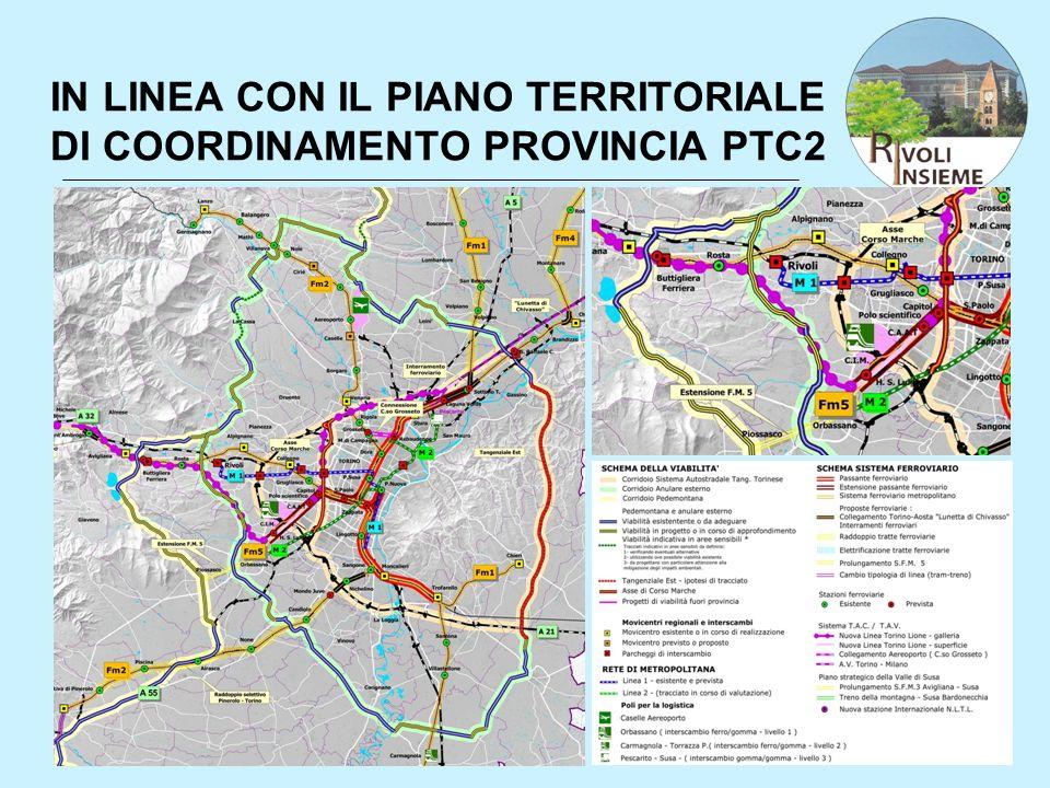 IN LINEA CON IL PIANO TERRITORIALE DI COORDINAMENTO PROVINCIA PTC2