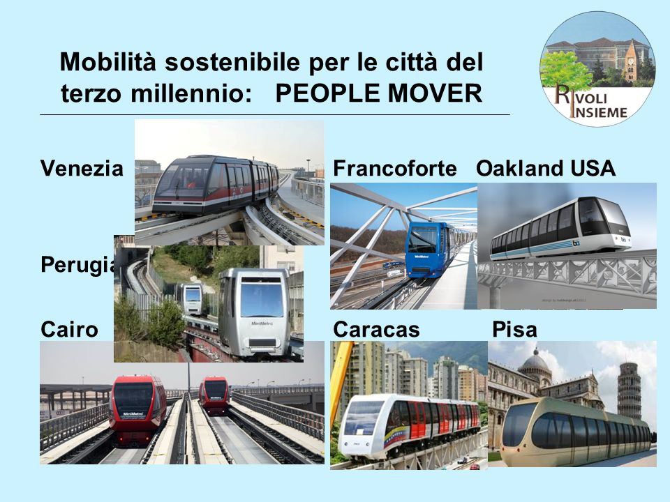 Mobilità sostenibile per le città del terzo millennio: PEOPLE MOVER
