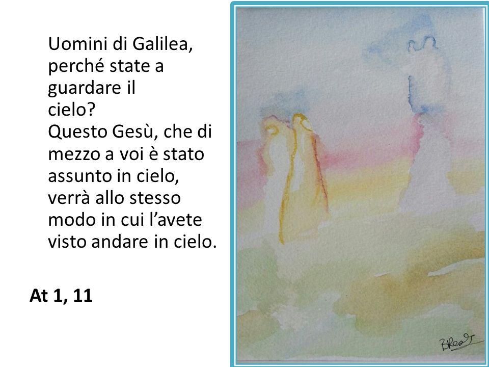 Uomini di Galilea, perché state a guardare il cielo