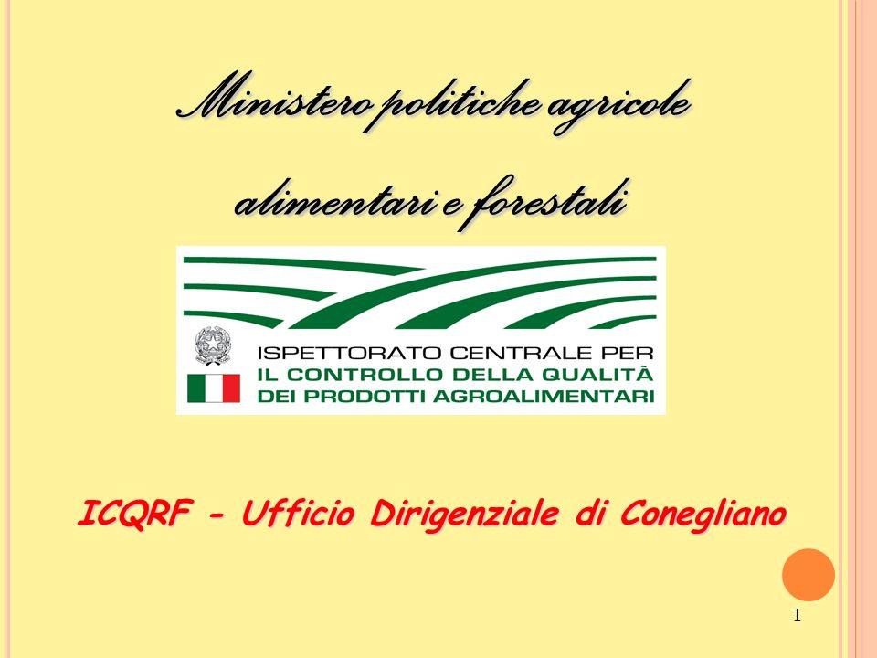 Ministero politiche agricole alimentari e forestali