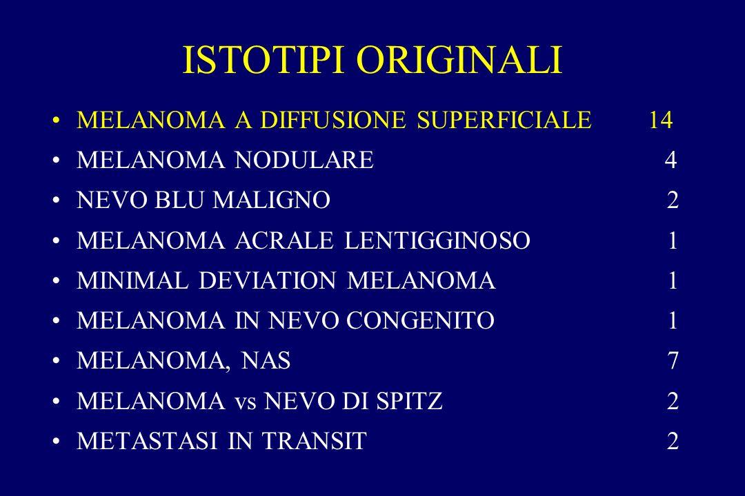 ISTOTIPI ORIGINALI MELANOMA A DIFFUSIONE SUPERFICIALE 14