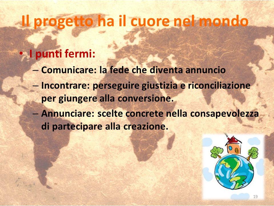 Il progetto ha il cuore nel mondo