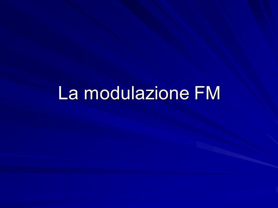 La modulazione FM