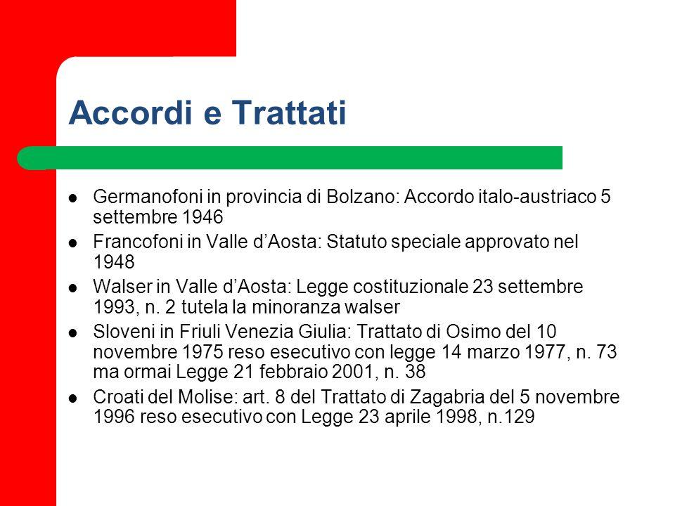 Accordi e Trattati Germanofoni in provincia di Bolzano: Accordo italo-austriaco 5 settembre 1946.