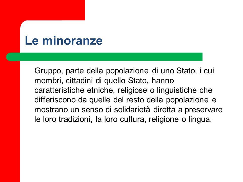 Le minoranze