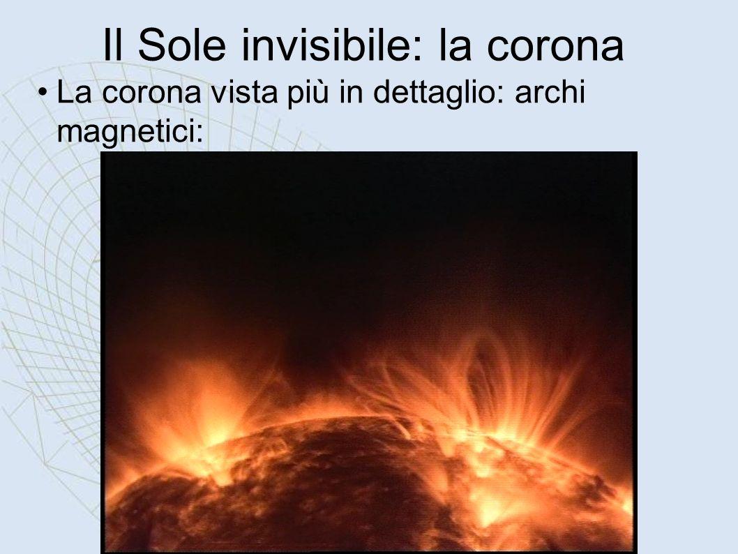 Il Sole invisibile: la corona
