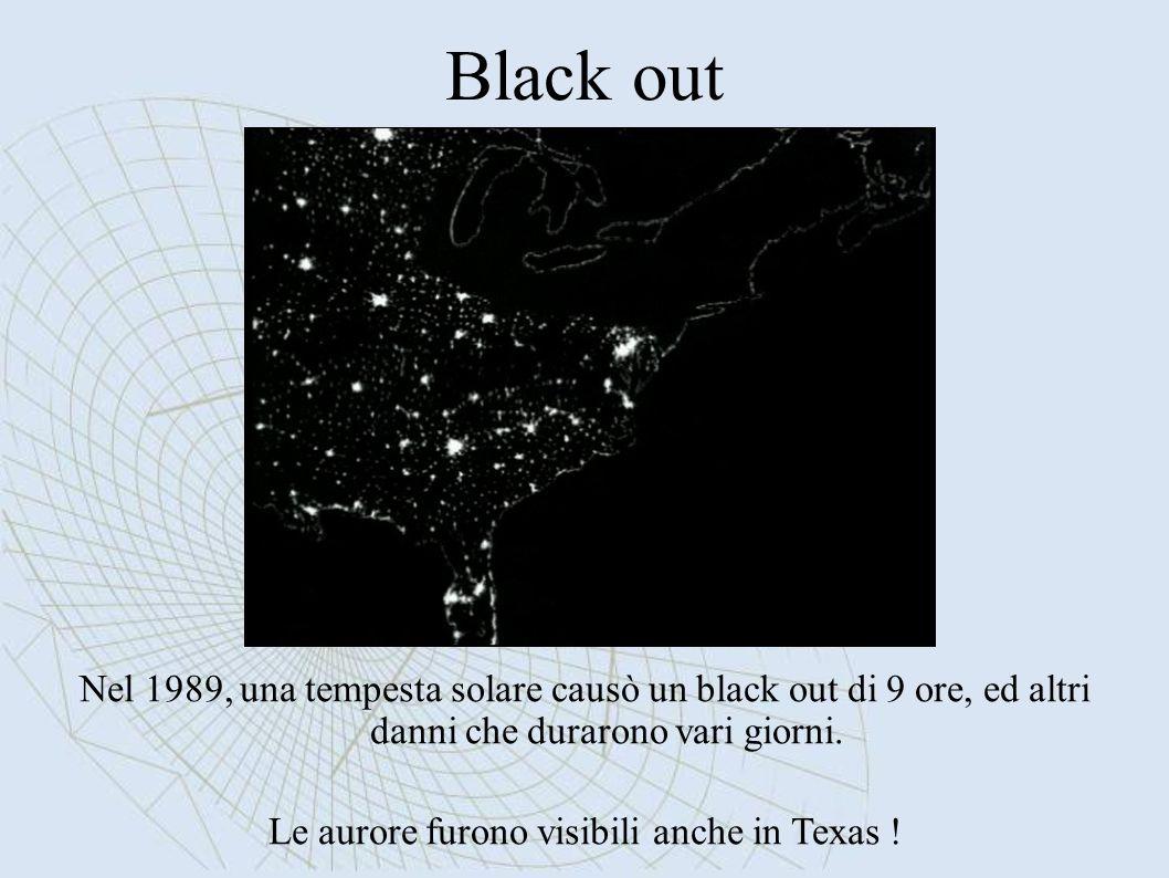 Le aurore furono visibili anche in Texas !