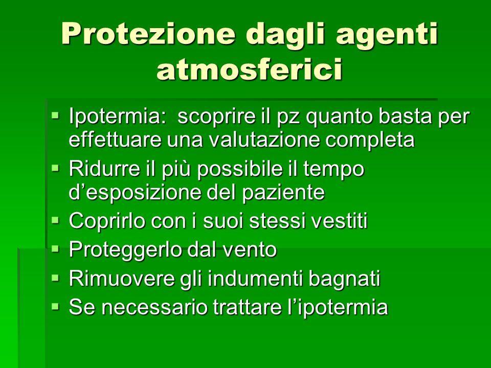 Protezione dagli agenti atmosferici