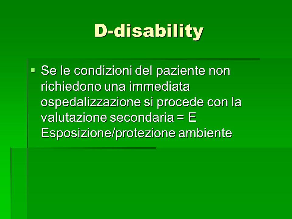 D-disability
